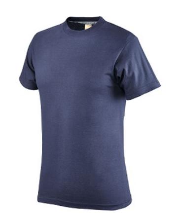 Maglietta Cotone Mezza Manica, Colore Blu