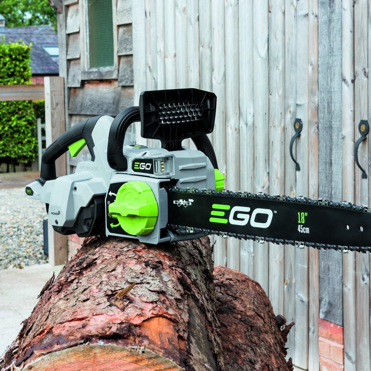 Motosega a batteria CS1800E con Borsa per Motosega BCS1000-Ego Plus Power