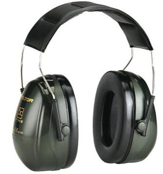 Cuffia Peltor H520A Bardatura Temporale. Colore Verde