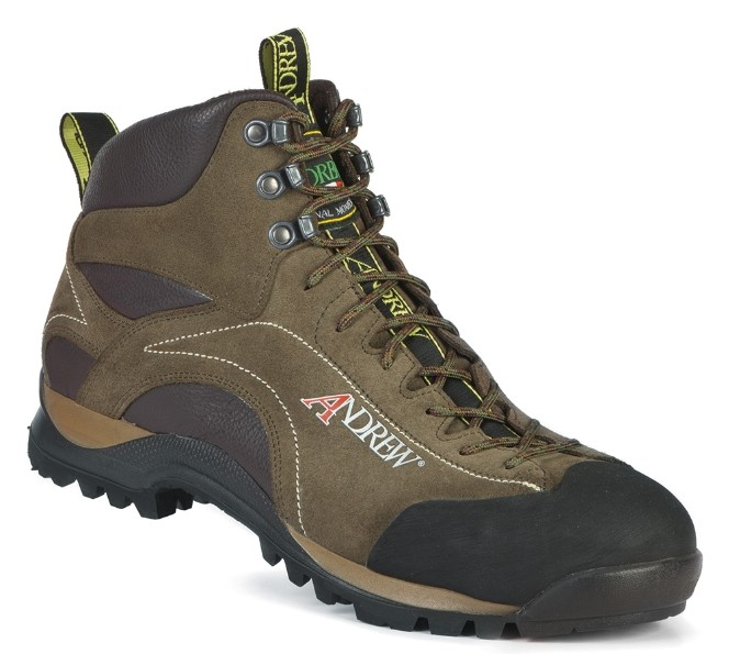 Eolo Safety Mid Verde-Marrone